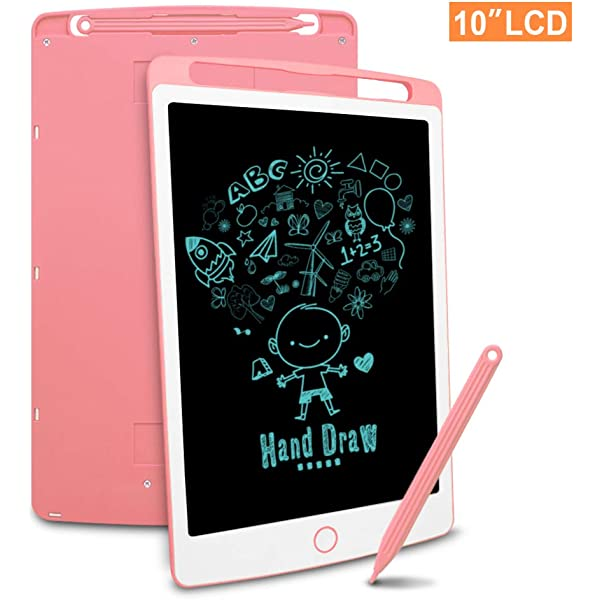 """10/"""" Shockproof LCD Writing Tablet Drawing Board Handwriting Pad Notepad For Kids"""