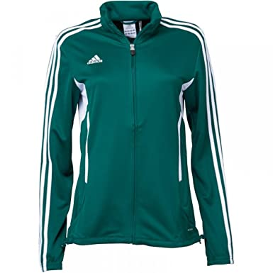 Trendy adidas Womens 3 Stripe Tiro 11 Training Jacket Forest