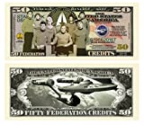 Limited Edition Star Trek 50th Fifty Year Anniversary Collectible Bill in Currency Holder