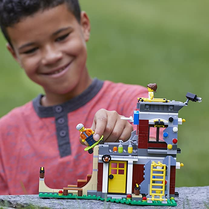 金盒特价 LEGO 乐高 创艺百变三合一系列 31081 滑板玩乐屋 积木玩具 5.2折$20.79史低 海淘转运到手约¥203