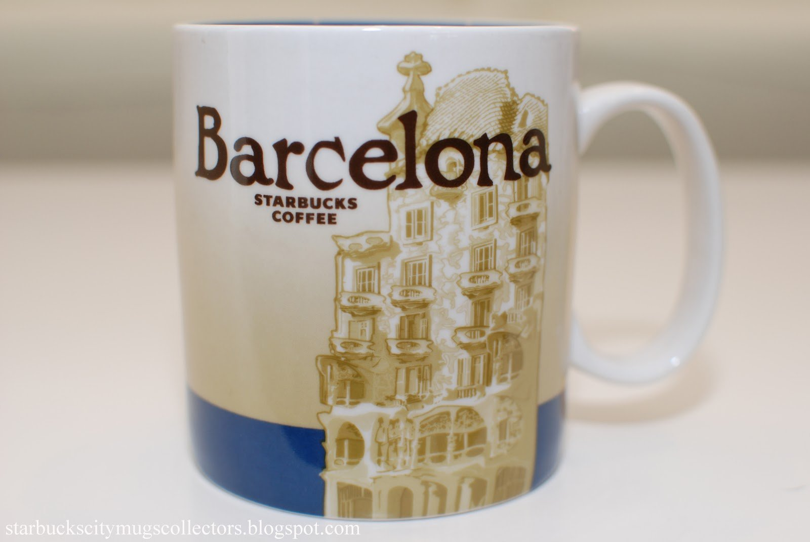 Starbucks Barcelona (Spain) Icon Coffee Tea Mug