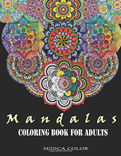 Mandala Coloring Book for Adults: Mandala coloring book + BONUS Track 60 free mandalas coloring pages (PDF)