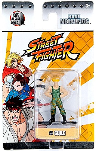 Street Fighter Guile (SF4) 1.5 Inch Diecast Nano Metal Figure by Jada