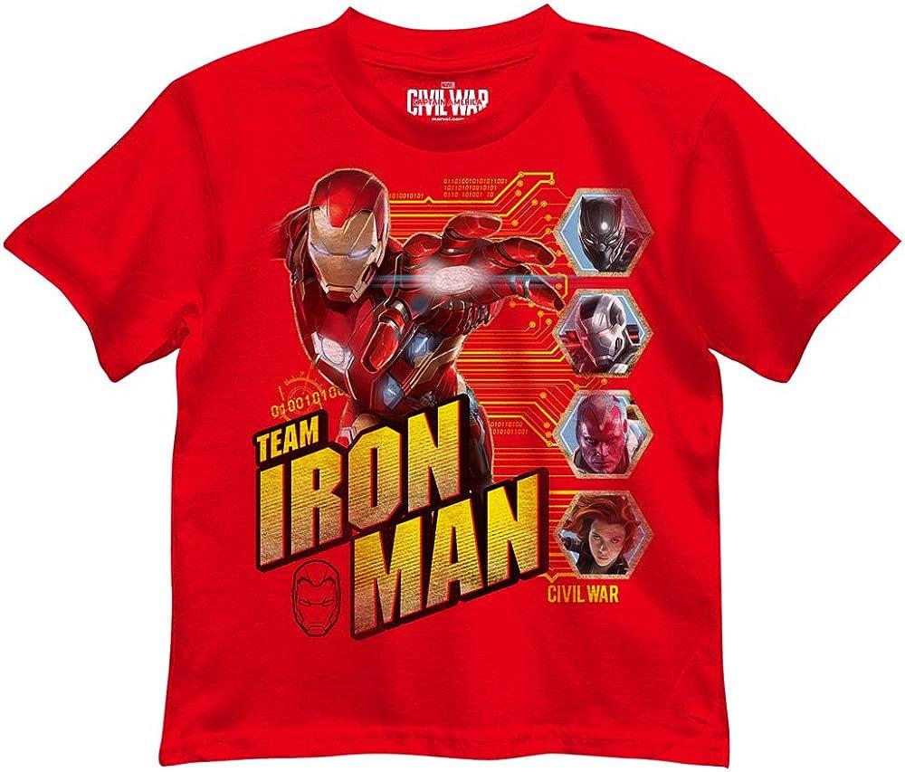 Marvel Boys Iron Man T-Shirt