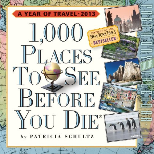 1,000 Places to See Before You Die Page-A-Day Calendar