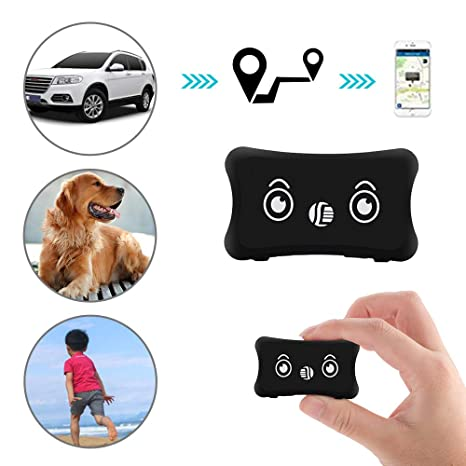 Likorlove Smart Pet GPS Tracker, Collar Ajustable para Gato y Perro con GPS Tracker &