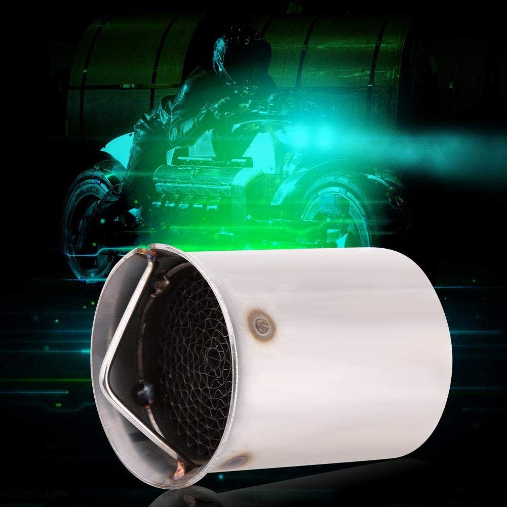 Acouto 51mm Universal Motorcycle Exhaust Pipe Muffler Silencer Insert DB Killer Noise Eliminator Style 4