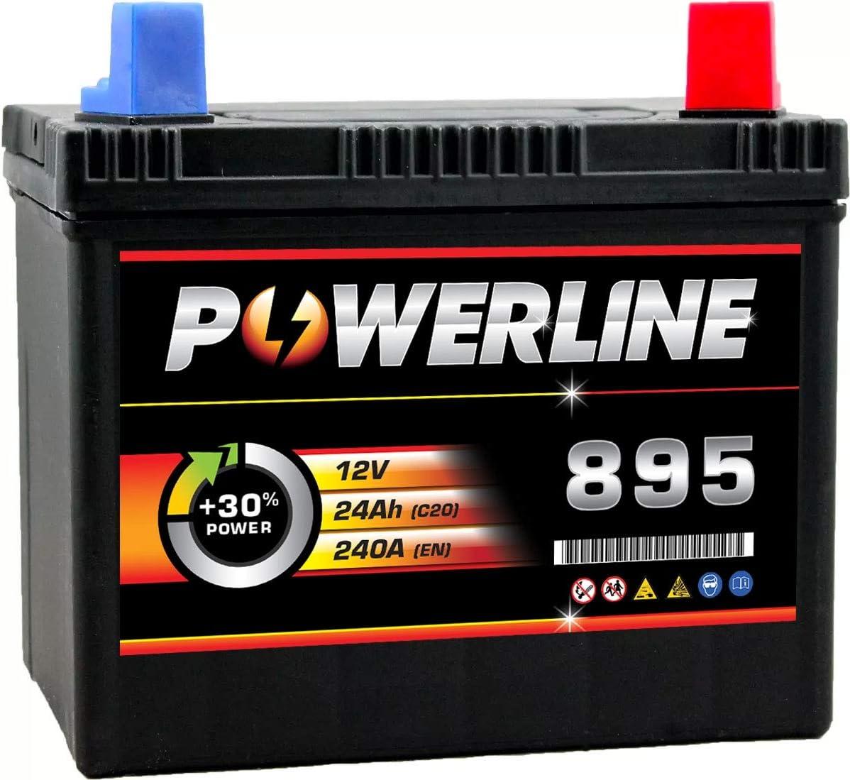 895 Powerline Lawnmower Batterie 12V