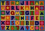 LA Rug Numbers & Letters Rug 8'x11′ Review