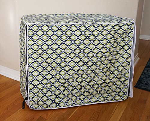 Green Blue Swivel Dog Pet Wire Kennel Crate Cage House Cover (Small, Medium, Large, XL, XXL) (SMALL 24x18x21'') by 528zone