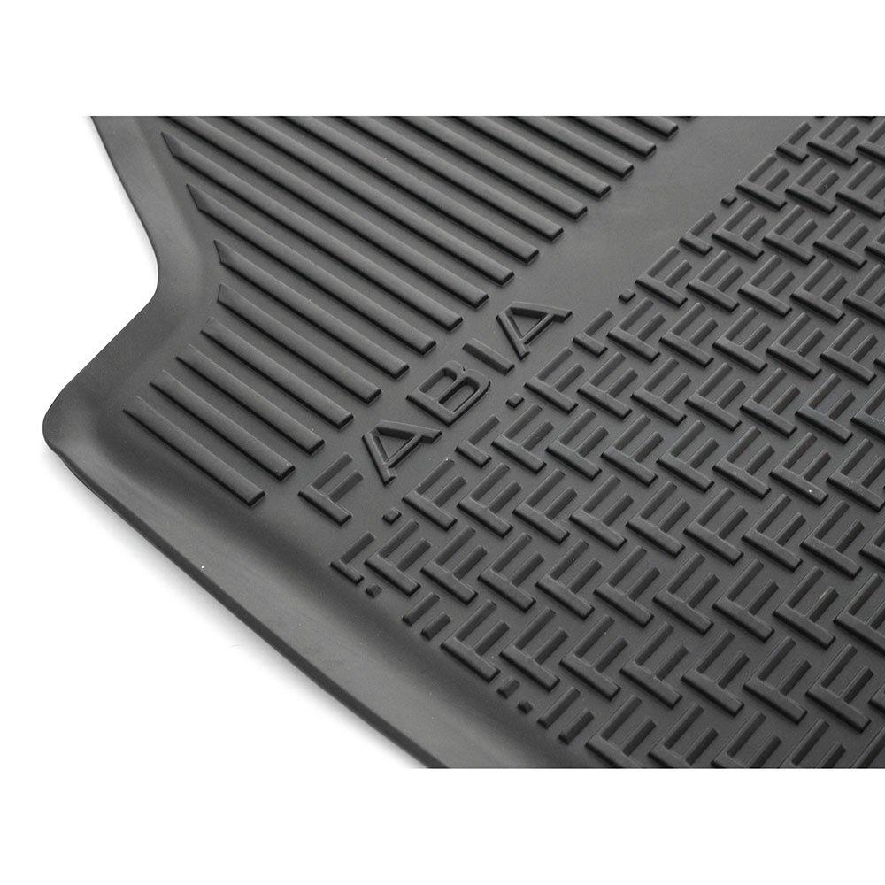 Skoda 6V1061551 Gummi Fu/ßmatten 2x vorn Gummimatten Original Allwettermatten schwarz mit Schriftzug