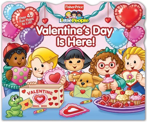 Fisher-Price Little People: Valentine's Day Is Here! (Lift-the-Flap) by Fisher-Price(TM) (2012-12-18) (Fisher Price Valentines Day Book compare prices)