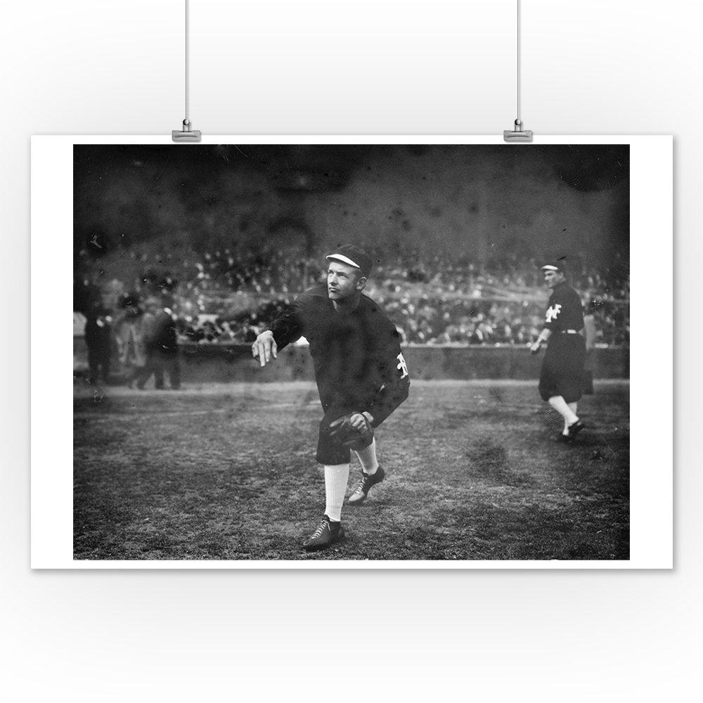 Christy Mathewson 16x24 SIGNED Print Master Art Print - Wall Decor Poster NY Giants Baseball Photo #3 5409 World Series