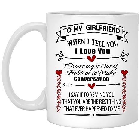Sweet Quote Coffee Mug Holder 11 Oz
