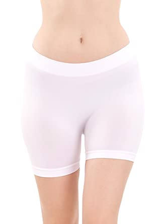 Seamless Hot Shorts White Hot Pants at Amazon Women's Clothing ...
