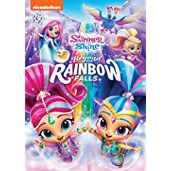 Shimmer and Shine: Beyond the Rainbow Falls arrives on DVD February 6 from Nickelodeon