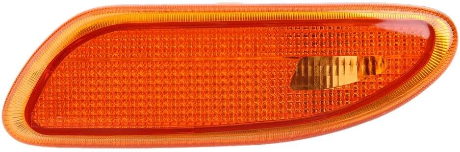 Side Marker Bumper Turn Signal Light for Mercedes-Benz W203 C-Class Automotive Replacement Pair