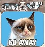 Ata-Boy Grumpy Cat Go Away Mouse Pad