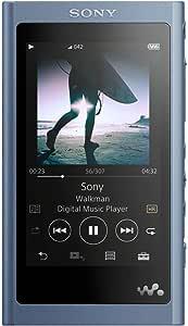 Sony NW-A55 16GB High-Resolution Digital Music Player Walkman Moonlit Blue(International Version/Seller Warranty)