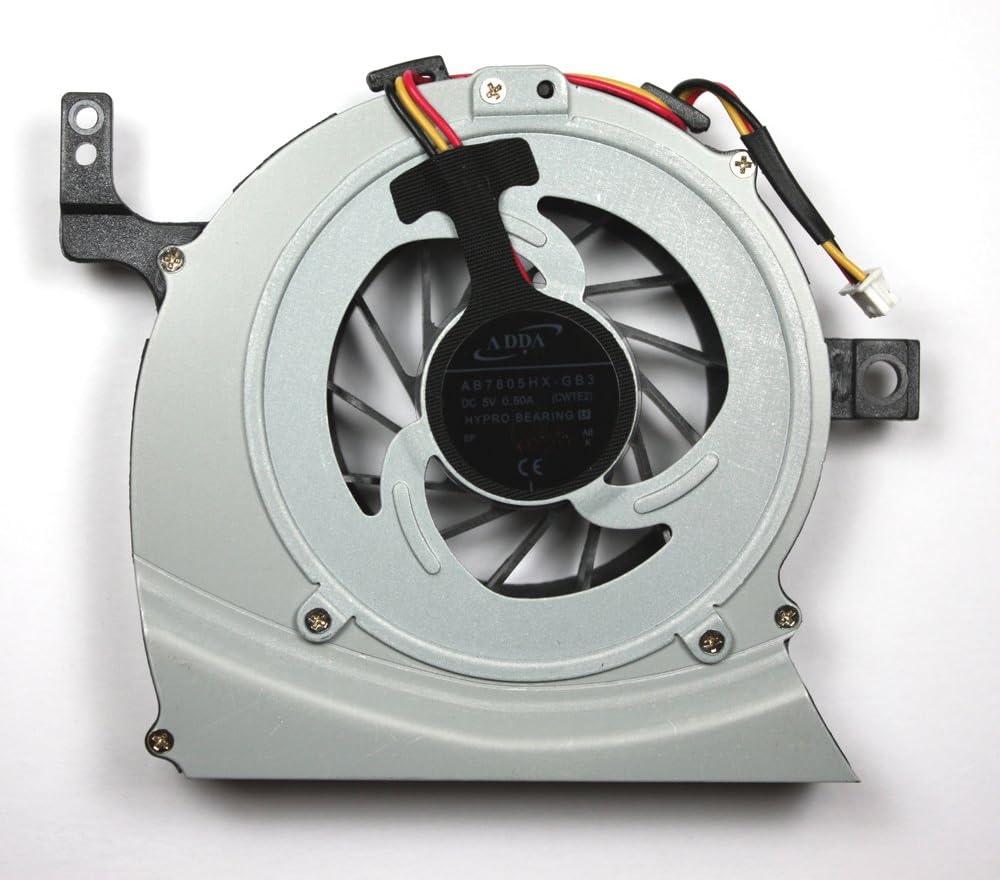 Toshiba Satellite L755-113 Toshiba Satellite L755-10J Power4Laptops Replacement Laptop Fan for Toshiba AB7705HX-GB3 Toshiba Satellite L755 Toshiba Satellite L755-10U