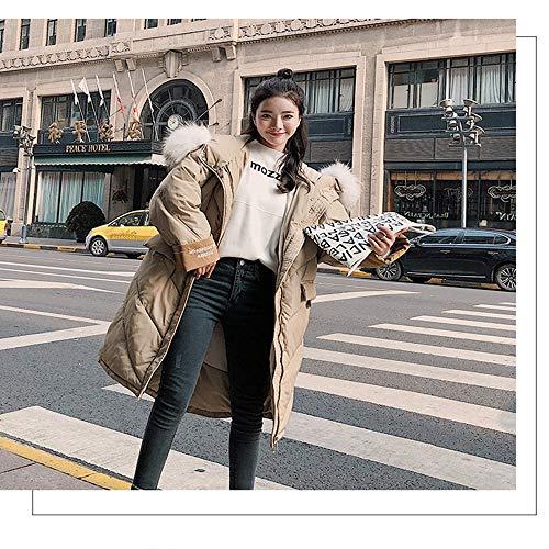 En Capuche Survêtement Hiver Xxl Fxchen À Veste Épaississement Femmes Long Manteau Col Femme Coton BaxxqRU