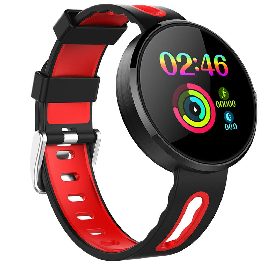 for Android iOS, Sport Smart Watch, Fitness Calorie Heart Rate Monitoring Physiological Cycle Reminder Smart Bracelet (B) by YNAA (Image #2)