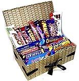 Chocolate Bar Wicker Hamper Gift Box