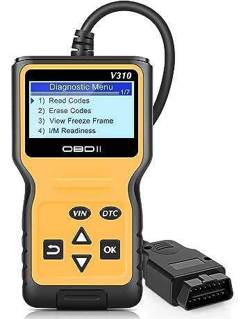 Escáner VXDAS OBD2, V310 Lector de código automático OBD II mejorado Controlar luz del motor