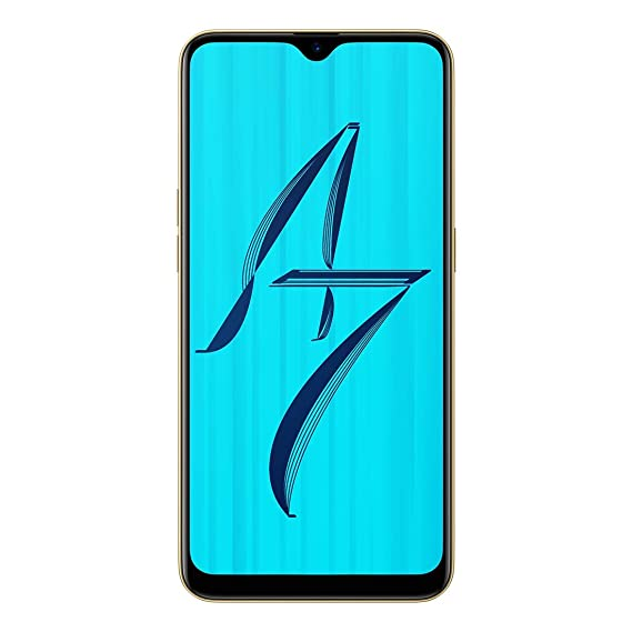 OPPO A7 (Glaring Gold, 4GB RAM, 64GB Storage) Without Offer