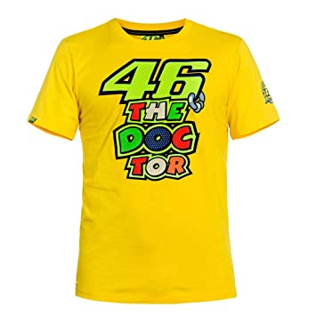 Valentino Rossi T Shirt 46 The Doctor Yellow Xxl Amazon De Sport