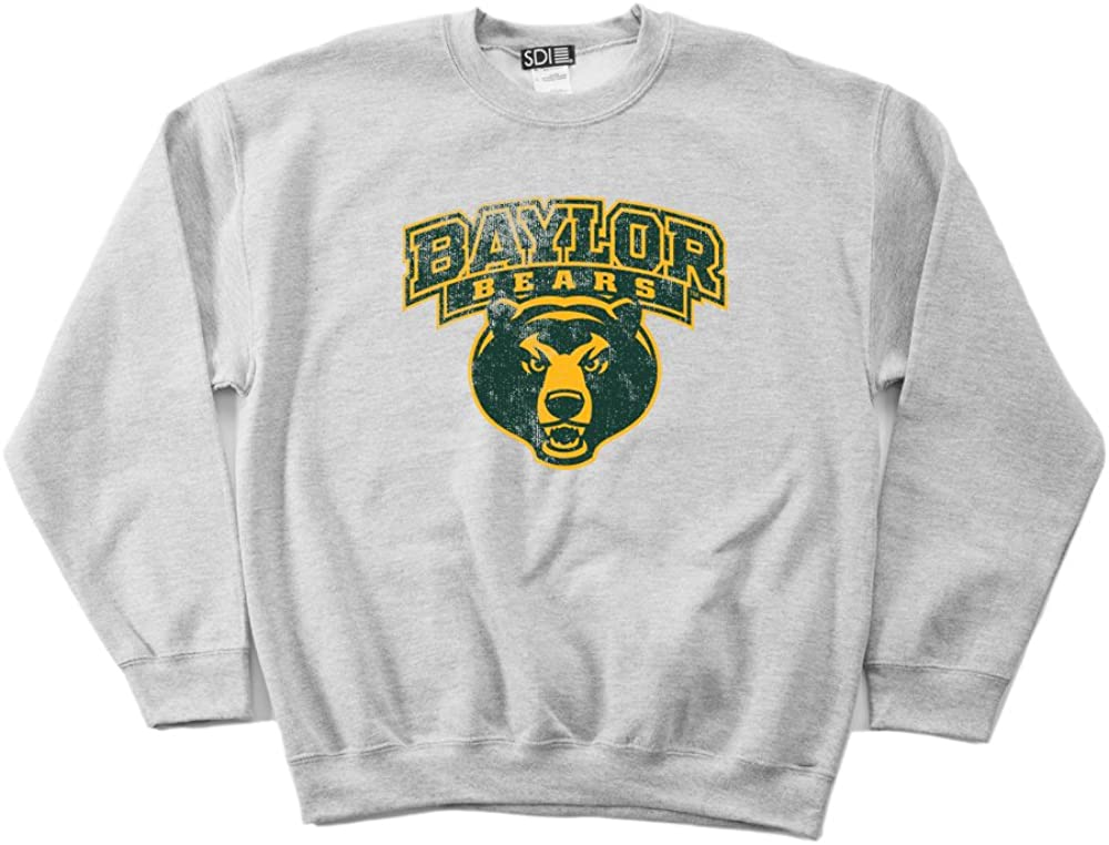 NCAA mens 50//50 Blended 8 oz Crewneck Sweatshirt