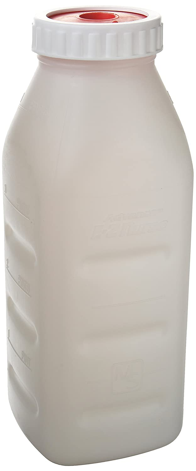 Milk Specialties 984 Advance Completed Lamb Bottle Set with Nipple, 2-Quart Inc.