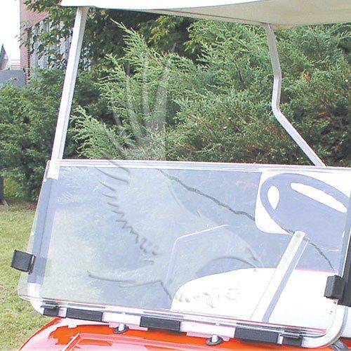 CLEAR Windshield for YAMAHA Golf Cart 1995 thru 2002 (G14 to G19)