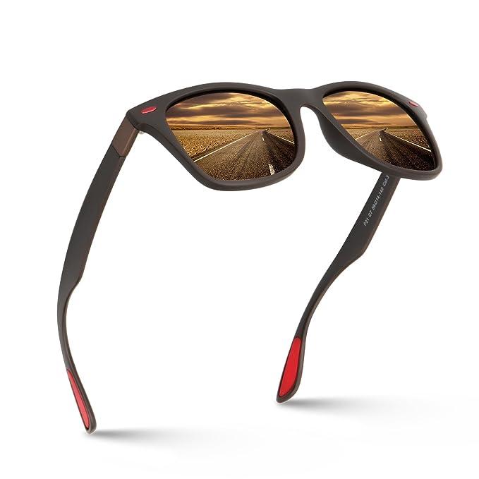 Amazon.com: meetsun polarizadas anteojos de sol para hombre ...
