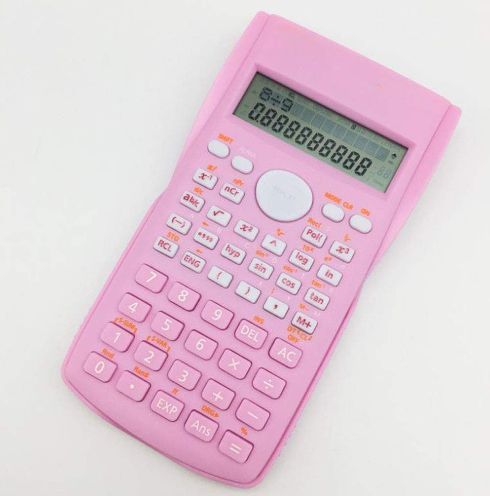 Calculator Student Science Calculator 12-bit Large Screen Display  Student Calculations Complex Operation