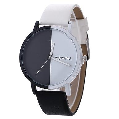 Darringls_Reloj 918353 WEIYENA,Reloje Hombres Mujer Relojes Cuero de Gel de sílice de Hombres Deportivos niños Reloj de Pulsera de Cuarzo: Amazon.es: Ropa y ...