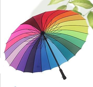 ZSSKY Paraguas extra grandes del paraguas 24K del parasol soleado del paraguas del paraguas