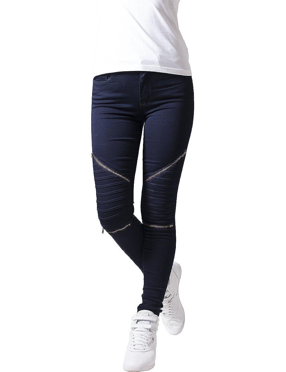 Urban Classics Ladies Stretch Biker Pants, Mutande Donna TB1215