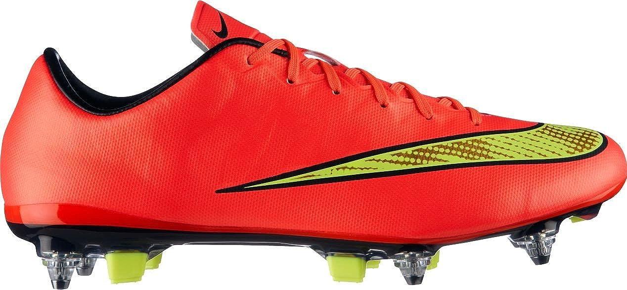 66c23b5c9efb Amazon.com: Nike Mens Mercurial Veloce II SG-Pro Soft Ground Soccer Shoe 7  US, Punch/Black/Volt/Gold: Everything Else
