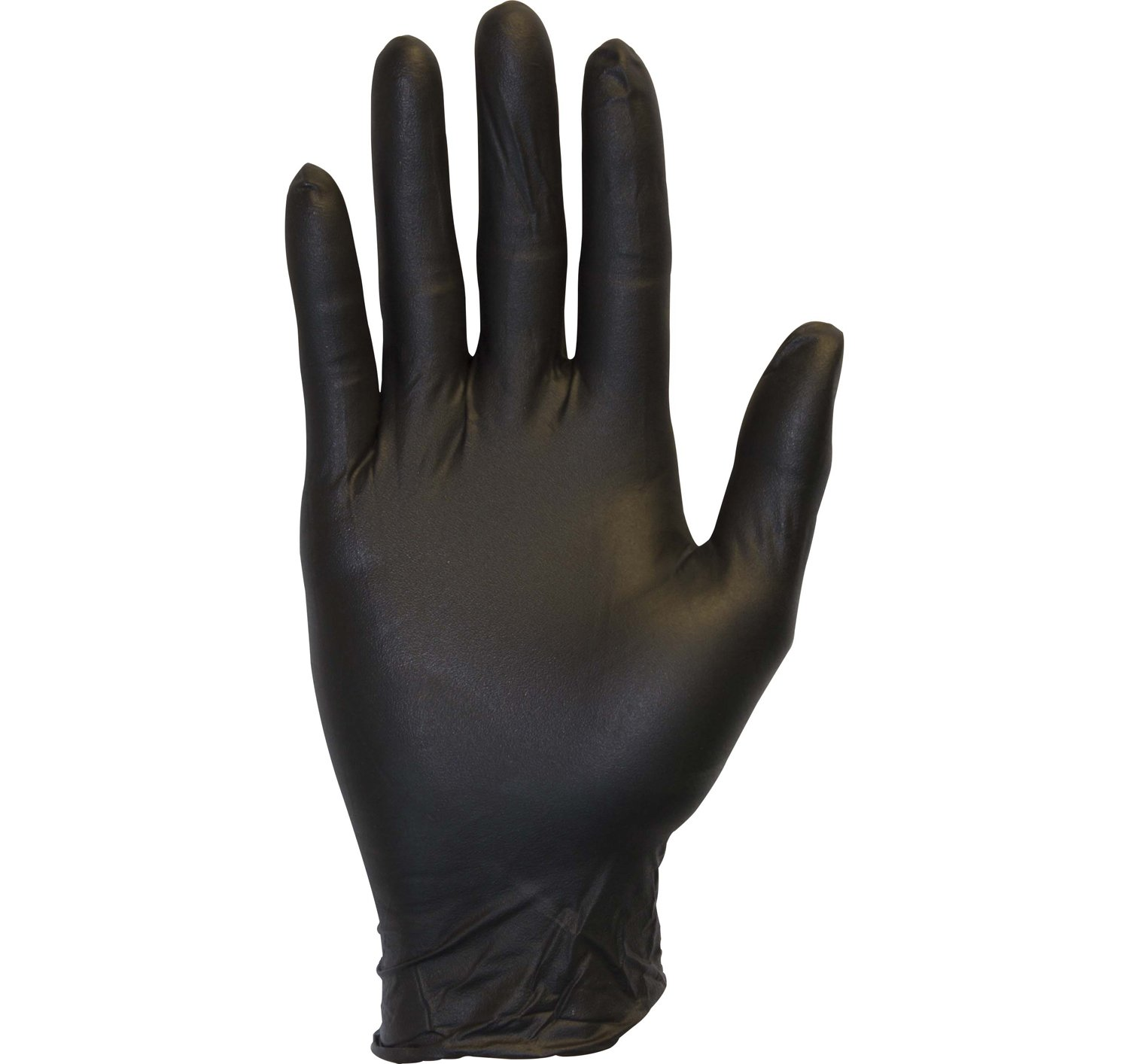 Black Nitrile Exam Gloves - Medical Grade, Disposable, Powder Free, Latex Rubber Free, Heavy Duty, Textured, Non Sterile, Work, Medical, Food Safe, Cleaning, Wholesale, Size Large (Box of 100)