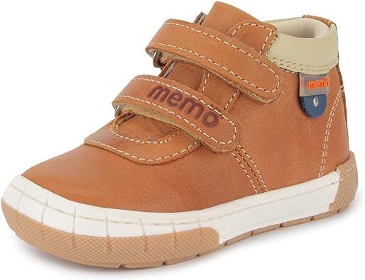 Toddler Memo Dino First Walking Orthopedic Girls Natural Leather Suede Sandal