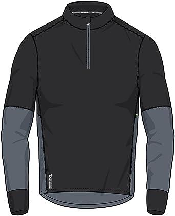 Duofold Camisa térmica ligera de rendimiento para hombre con cremallera