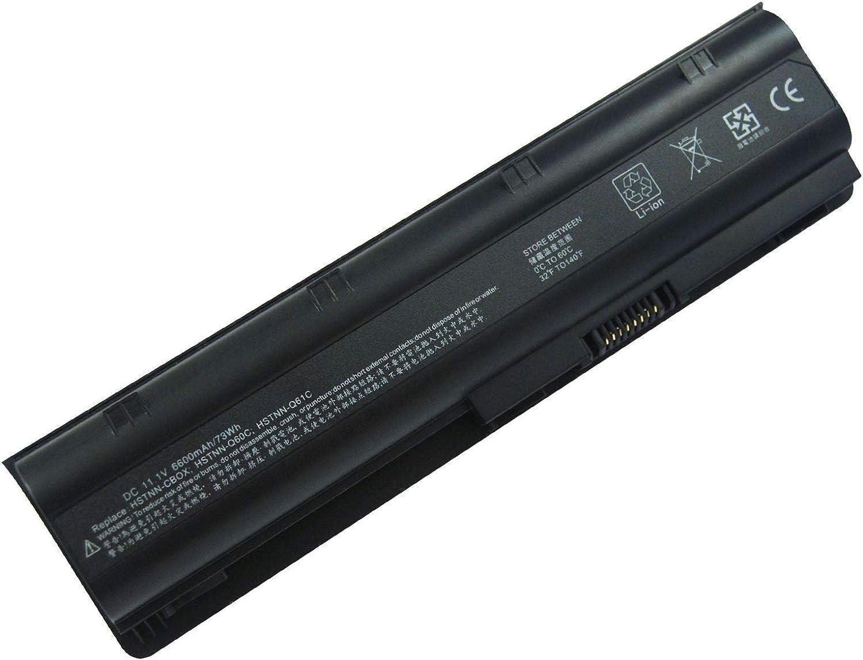 Batería HP CQ42 11.1 6600mAh/73Wh compatible con Envy 15-1000 | 17-1000 | 17-2000 | 17 G | G42 | G56 | G6-1000 | G62 | G72 Notebook PC 2000 | 430 | 431 | 435 | 436 | 630 | 631 | 635 | 636 Pavilion DM4-1000 | DM4-2000 | DV3-2000 | DV3-4000 | DV4-4000 | DV4t-1000 | DV6-3000 | DV7-4000 | DV7-5000 | G4 | G4-1000 | G6 | G6-1000 | G7-1000 Presario CQ32 | CQ42 | CQ43 | CQ56 | CQ61 | CQ62 | CQ630 | CQ72 y part number 586006-321 | 586006-361 | 586007-541 | 586028-341 | GSTNN-Q62C | HSTNN-Q47C