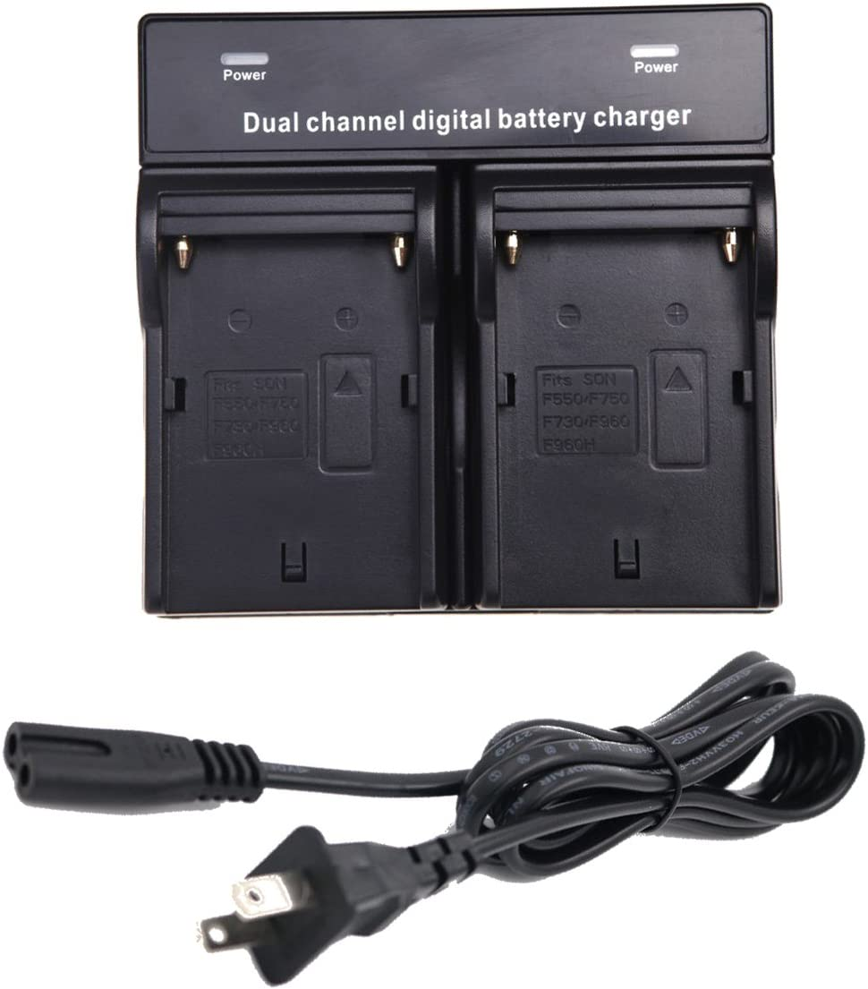 6600mAh, 7.4V, Lithium-Ion UpStart Battery NP-F970 Replacement Battery for Sony Digital Camcorders