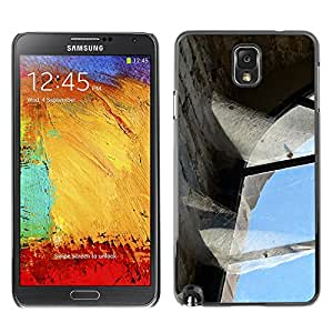 Hot Style Cell Phone PC Hard Case Cover // M00170022 Old Brickyard Brick Factory Industry // Samsung Galaxy Note 3 III N9000 N9002 N9005