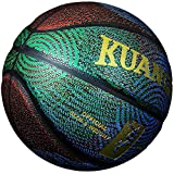 Kuangmi Cool Basketball Personality Street Ball for Men Youth Teenager (Official Size 7 (29.5'))