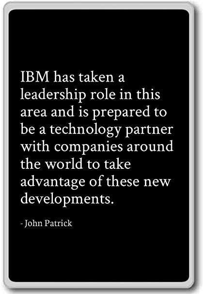 Amazon.com: IBM has taken a leadership role in this area a ...
