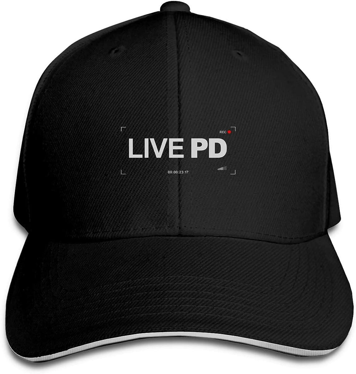 Rec-Live-PD Classic Adjustable Cotton Baseball Caps Trucker Driver Hat Outdoor Cap Black