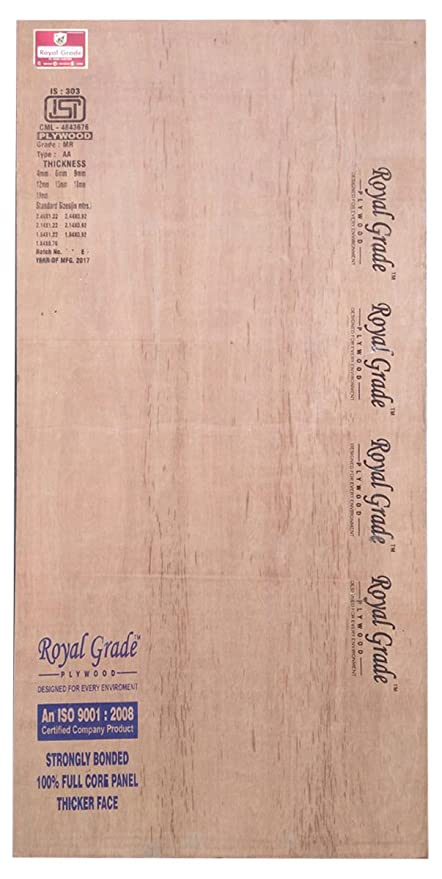 Royal Grade Wooden Plywood 7 X 4 Ft 18mm Amazon In Home Improvement