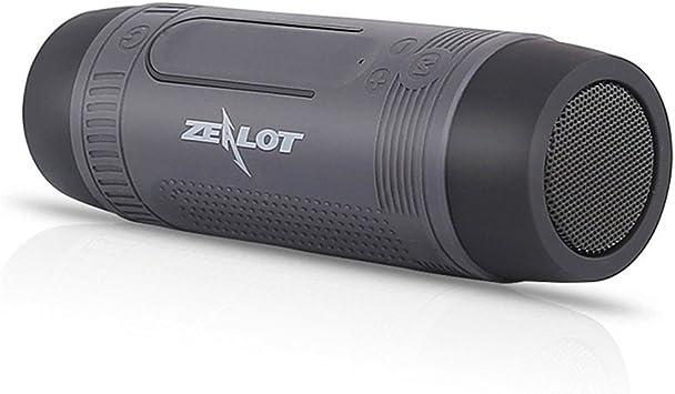 CCYOO Zealot S1 Altavoz Bluetooth Bicicleta Exterior Subwoofer ...